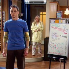 Penny discovers Sheldon has been up all night