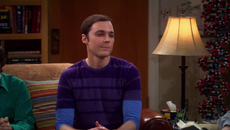 Sheldon laughs