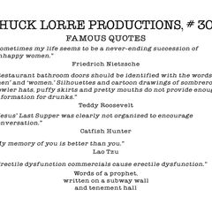 Chuck Lorre Productions, #303.