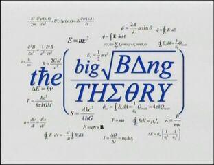 Original The Big Bang Theory title