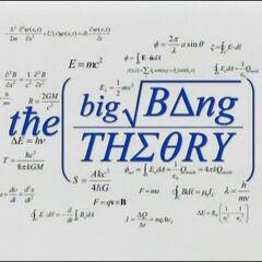 Original The Big Bang Theory title.