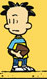 Nate holding a football