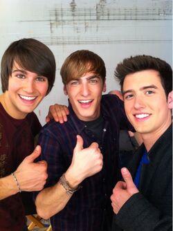 Kendall, James and Logan