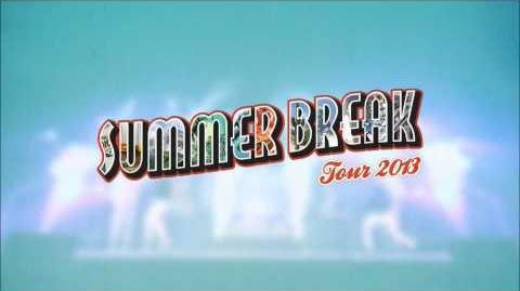 Summer Break Tour Promo - Big Time Rush with Victoria Justice
