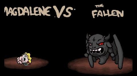 "The Binding of Isaac Rebirth ""The Fallen"" boss"