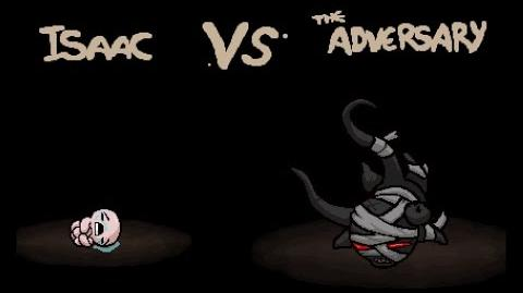 "The Binding of Isaac Rebirth ""The Adversary"" boss"