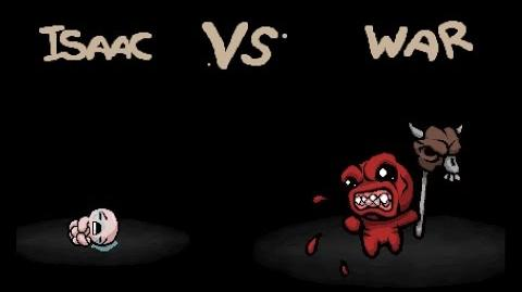 "The Binding of Isaac Rebirth ""War"" boss fight"