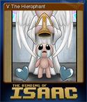 V The Hierophant Card