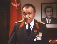 The Moving Mountain - Leonid Brezhnev (framed picture)