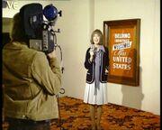 Lady reporter