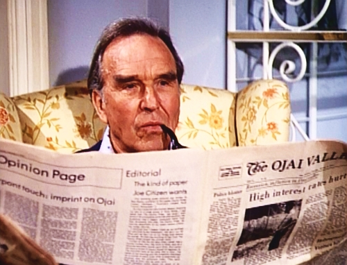 File:The Bionic Woman - Jim Elgin reading The Ojai Valley newspaper.jpg