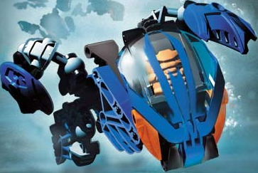 LEGO Bionicle Gahlok - image from the Bionicle Wiki (thanks!)