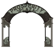 Prosperity Plaza sign