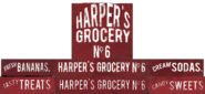 Harper's Grocery ads