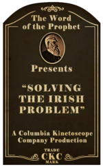 Kinetoscope Solving the Irish Problem