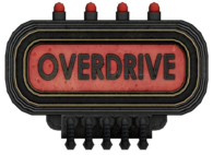 Overdrive Turbine Sign