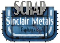 Sinclair Metals Sign
