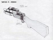 BioShock Shotgun Concept Art6