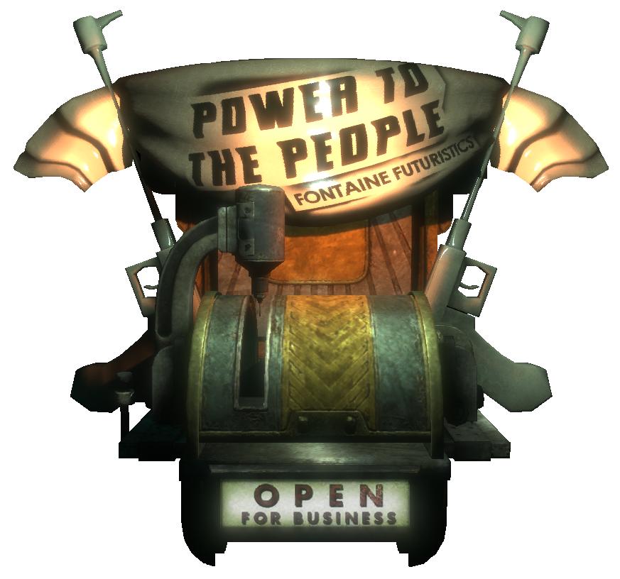 power to the machine
