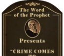 """Crime Comes to """"Shanty-Town"""""""