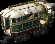 Tram Model Render