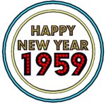 Happy New Year 1959 Neon