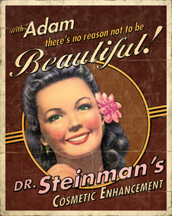 Steinman's Cosmetic Enhancement Poaster