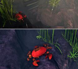 Robot crab