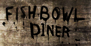 Fishbowl Diner Sign Crude
