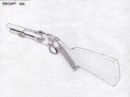 BioShock Shotgun Concept Art11
