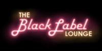 The Black Label Lounge sign
