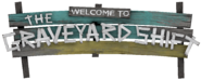 The Graveyard Shift sign