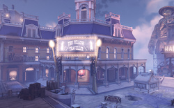 BioShock Infinite - Soldier's Field - The Fellow Traveller-outside f0788