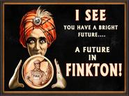 Finkton Fortune Teller Ad