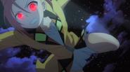 Enju enters the fight