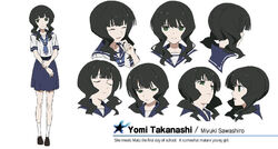 Yomi Takanashi character sheet (English)