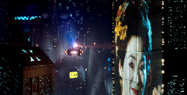 Image result for blade runner advertising