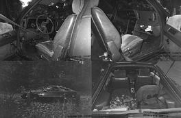 Joshua Leonard's car