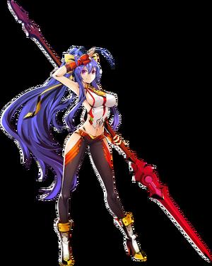 Mai Natsume (Centralfiction, Character Select Artwork)
