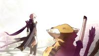 Jin Kisaragi (Continuum Shift, Story Mode Illustration, 3)