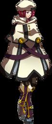 Tsubaki Yayoi (Story Mode Artwork, Normal, Coat)