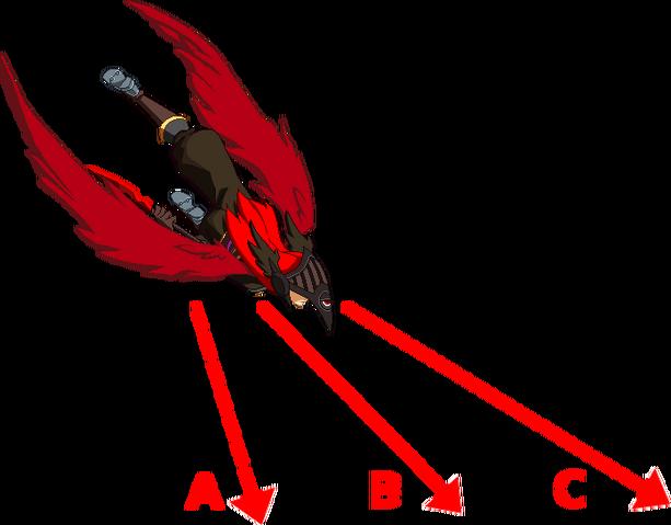 File:Tsubaki Yayoi (Chronophantasma, Sprite, j.214A,B,C,D).png