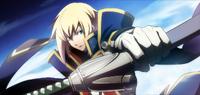 Jin Kisaragi (Chronophantasma, Arcade Mode Illustration, 3, Type A)