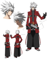 Ragna the Bloodedge (Concept Artwork, Alter Memory)
