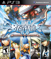 BlazBlue Continuum Shift (North American Cover)