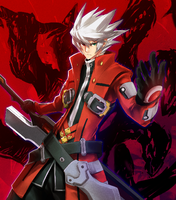 Ragna the Bloodedge (Lord of Vermilion, Artwork)