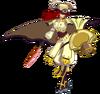 Tsubaki Yayoi (Continuum Shift, Sprite, 5D)