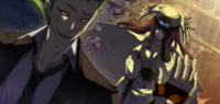 Tsubaki Yayoi (Continuum Shift, Arcade Mode Illustration, 1)