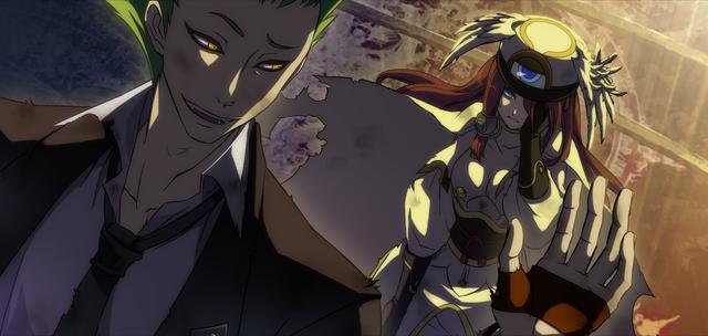 File:Tsubaki Yayoi (Continuum Shift, Arcade Mode Illustration, 1).png