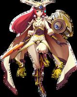 Tsubaki Yayoi (Centralfiction, Character Select Artwork)